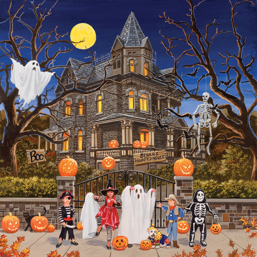 Beware Haunted House - 1000pc Jigsaw Puzzle by SunsOut