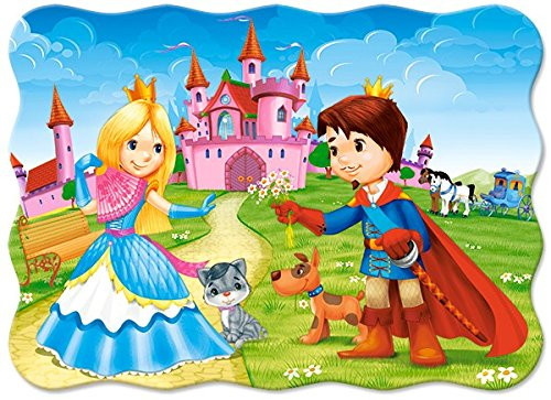 The Princess Couple - 30pc Jigsaw Puzzle By Castorland (discon-24050)