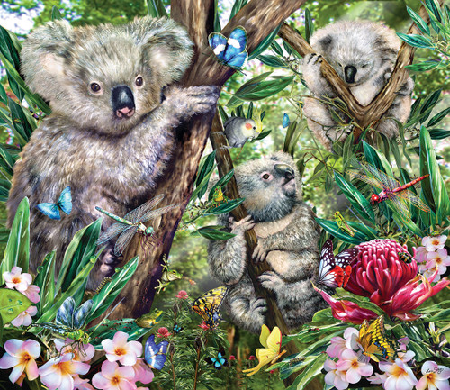 Koalas - 200pc Jigsaw Puzzle by SunsOut (discon-20438)