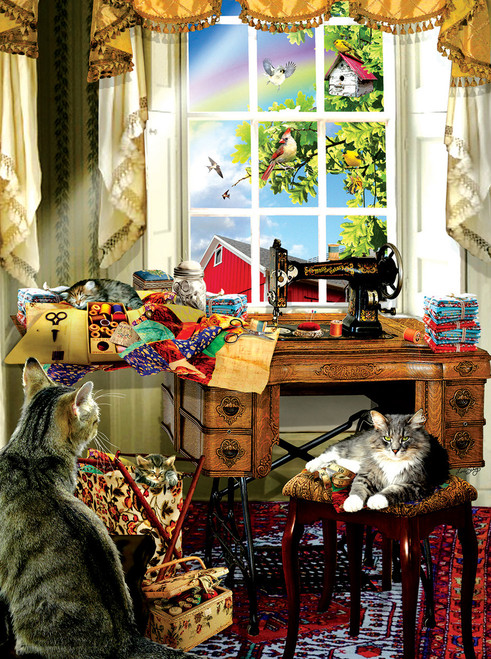 The Sewing Room - 1000pc Jigsaw Puzzle by Sunsout