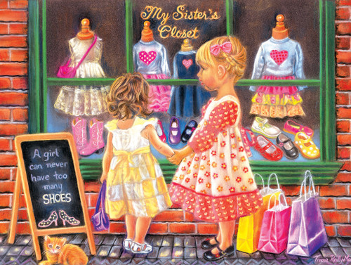 My Sister's Closet - 500pc Jigsaw Puzzle by Sunsout