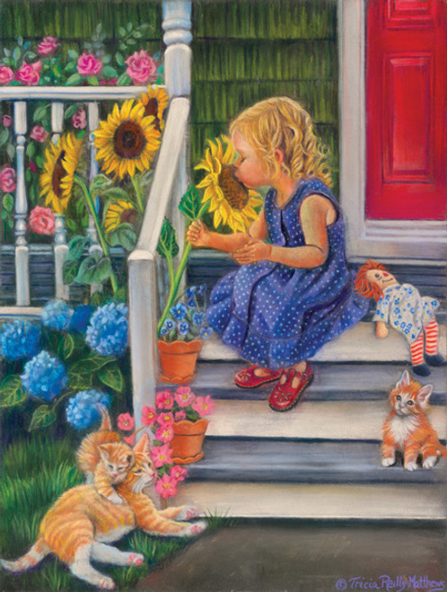 Jigsaw Puzzles - A Summer Kiss