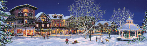 Hometown Holiday - 500pc Jigsaw Puzzle by SunsOut (discon-20481)