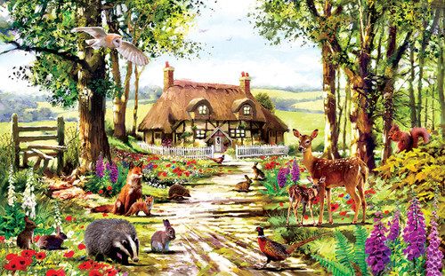 Wildlife Study - 300pc Jigsaw Puzzle By Sunsout (discon-23694)