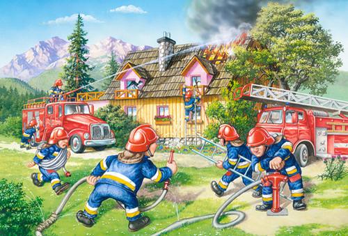 Fire Brigade - 40pc Jigsaw Puzzle By Castorland (discon)