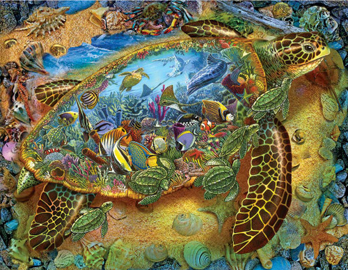 Jigsaw Puzzles - Sea Turtle World