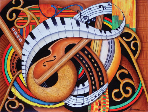 Sound of Soul Strings - 500pc Jigsaw Puzzle by SunsOut