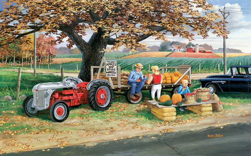 Roadside Harvest - 300pc Jigsaw Puzzle By Sunsout
