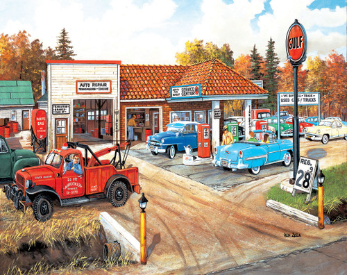Full Service - 550pc Jigsaw Puzzle by Sunsout
