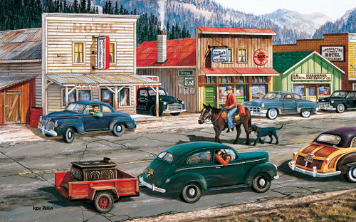 Horse Puzzles - Along the Yukon