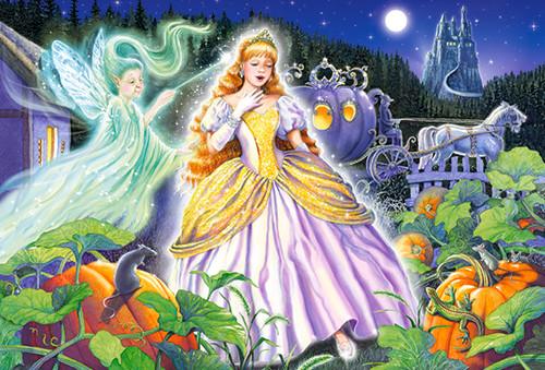 Cinderella - 40pc Jigsaw Puzzle By Castorland (discon-24069)