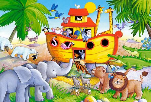 Noah's Ark - 40pc Jigsaw Puzzle By Castorland (discon)