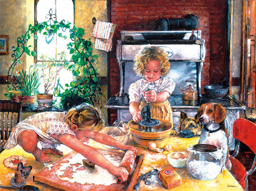 The Little Bakers - 300pc Jigsaw Puzzle by Sunsout