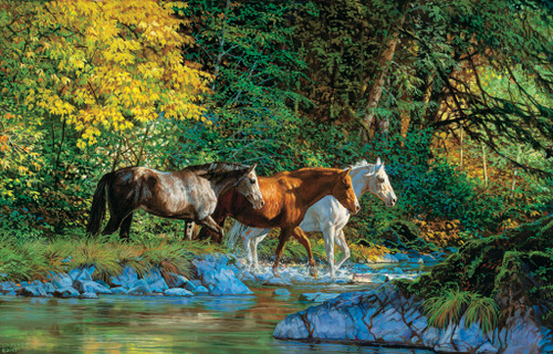 Jigsaw Puzzles - Bear Creek Crossing