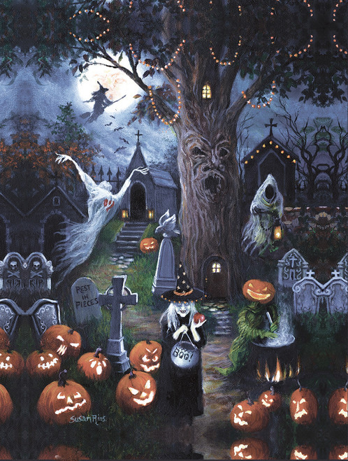 Halloween Night - 300pc Large Format Jigsaw Puzzle by SunsOut