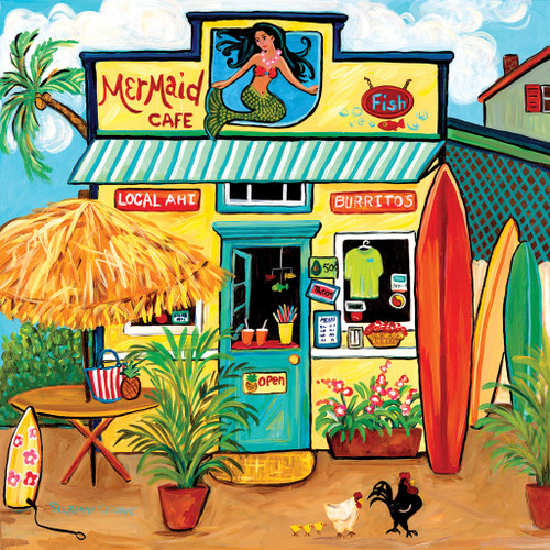 Mermaid Cafe - 500pc Jigsaw Puzzle by Sunsout