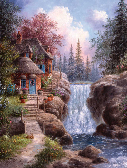 Jigsaw Puzzles - Tranquility Falls