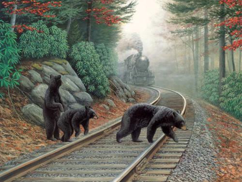 Jigsaw Puzzles - Bear Tracks
