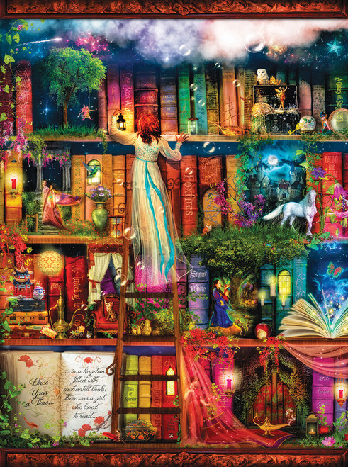 Treasure Hunt Bookshelf - 1000pc Jigsaw Puzzle by SunsOut