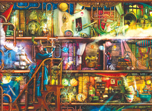 Fantastic Voyage - 1500pc Jigsaw Puzzle by SunsOut (discon-21491)