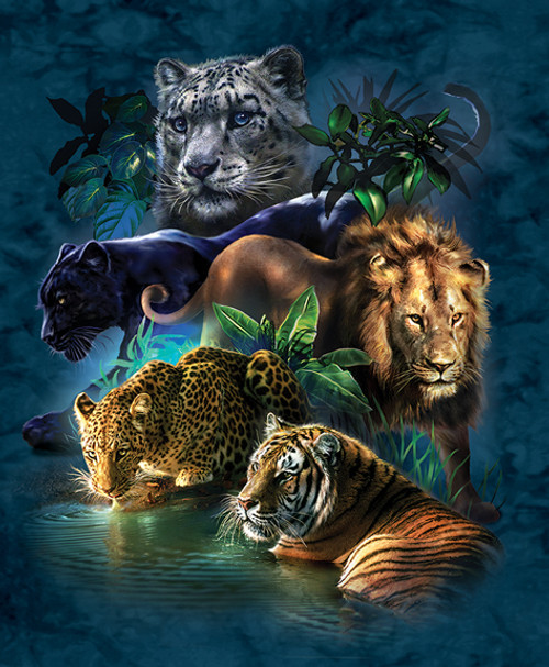 Jigsaw Puzzles - Big Cat Prowess