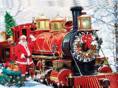 Christmas Express - 1000pc Jigsaw Puzzle by SunsOut (discon-20695)