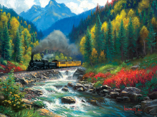 Durango Silverton - 1000pc Jigsaw Puzzle by SunsOut