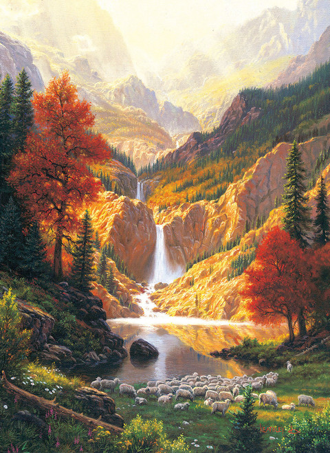 Still Waters - 500+pc Large Format Jigsaw Puzzle by Sunsout