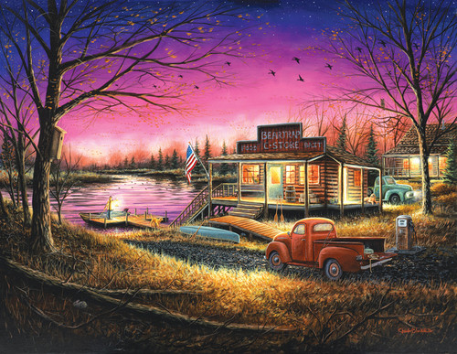 A Perfect Evening - 1000+pc Jigsaw Puzzle By Sunsout