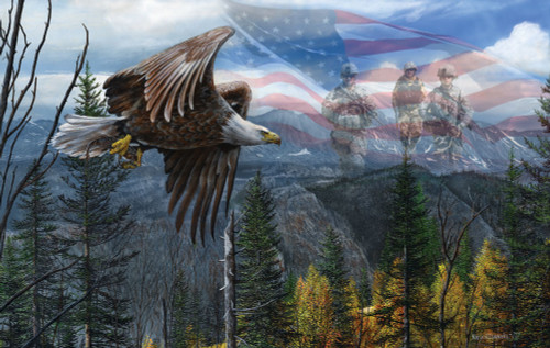 Jigsaw Puzzles - May Freedom Ring Forever