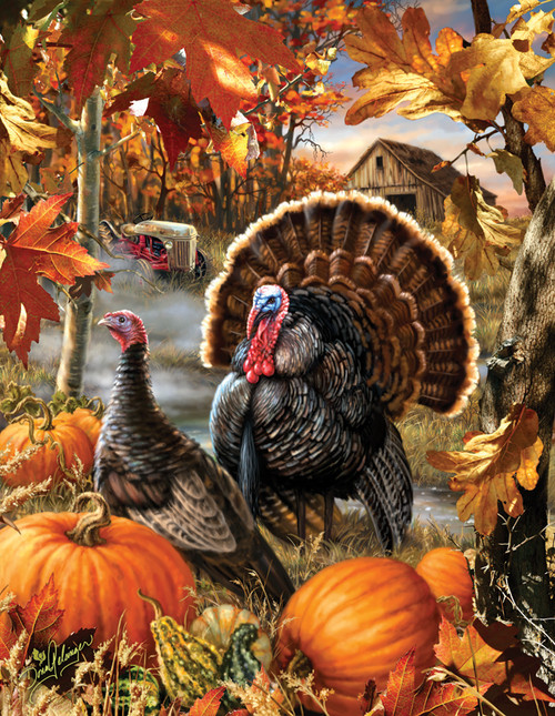 Large Format Jigsaw Puzzles - Gobbler Farms