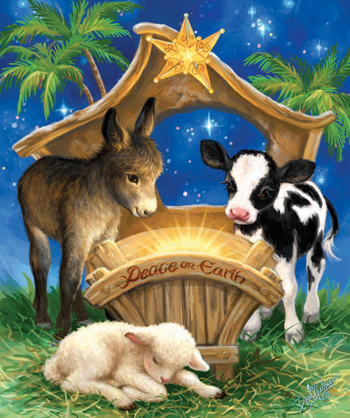 Jigsaw Puzzles - Born in a Manger