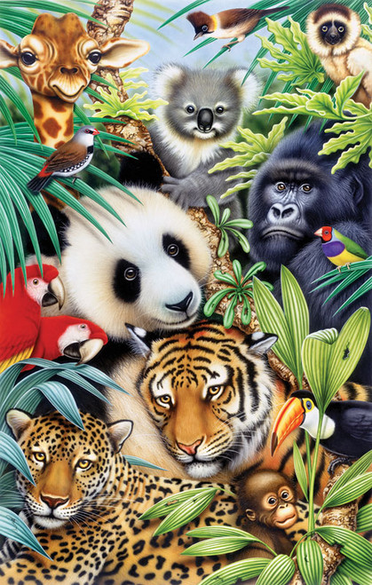 Jigsaw Puzzles - Animal Magic
