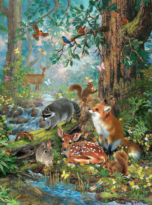 Out in the Forest - 1000pc Jigsaw Puzzle by SunsOut