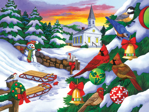 Winter in the Country - 300pc Jigsaw Puzzle By Sunsout (discon-23716)