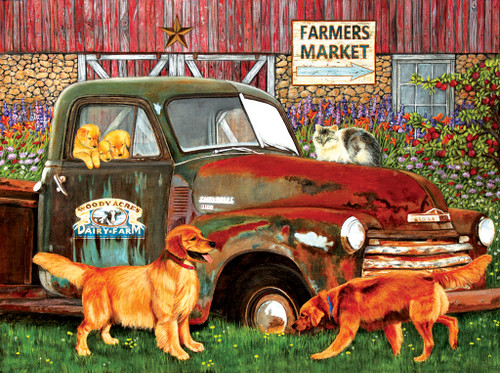 Woody Acres - 1000pc Jigsaw Puzzle by Sunsout
