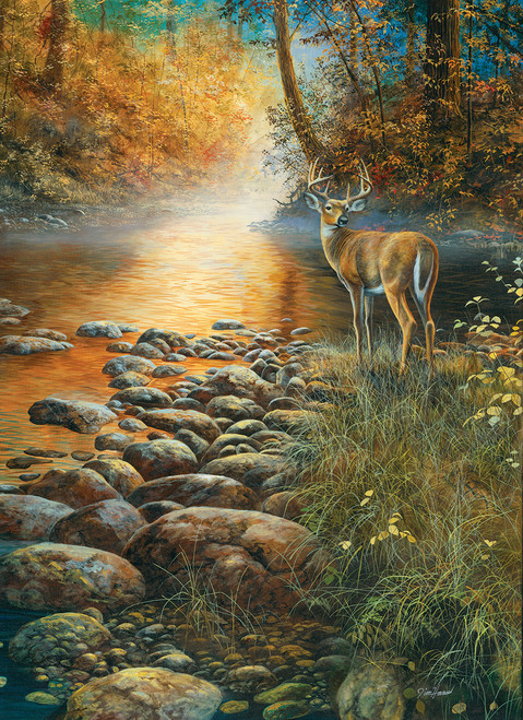 Forest Haven - 500+pc Large Format Jigsaw Puzzle by SunsOut
