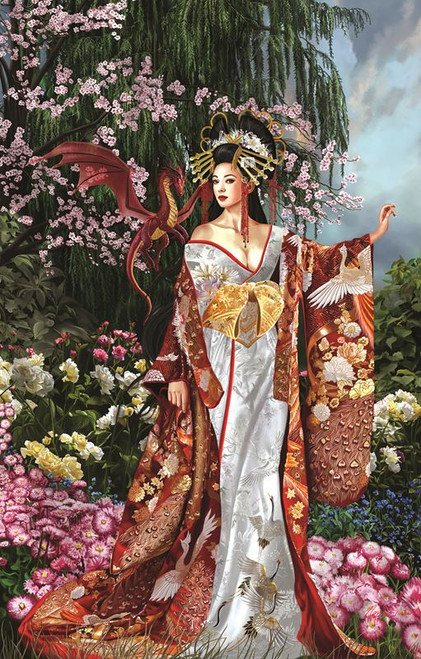 Nene Thomas: Queen of Silk - 1000pc Jigsaw Puzzle by SunsOut