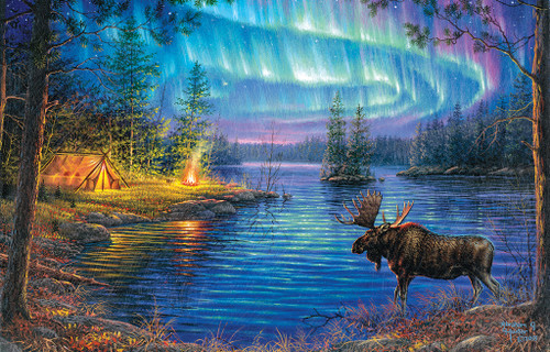 Northern Night - 1000pc Jigsaw Puzzle by SunsOut