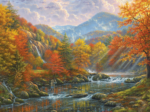 Paradise Valley - 1000pc Jigsaw Puzzle by SunsOut (discon)