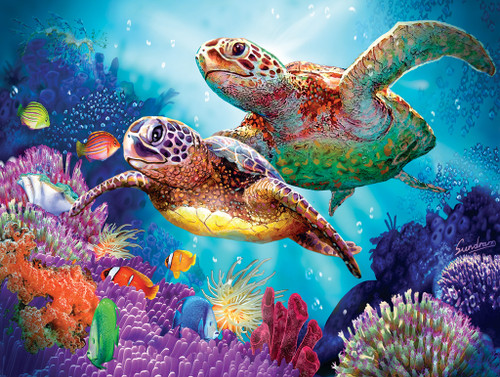 Turtle Guardian - 1000pc Jigsaw Puzzle by SunsOut