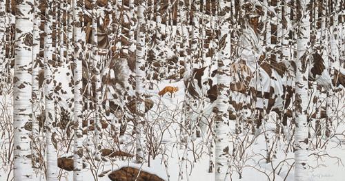 Horse Puzzles - Woodland Encounter