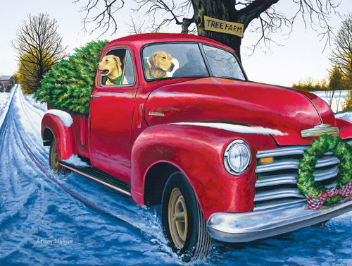 Tree Farm - 500pc Jigsaw Puzzle by SunsOut