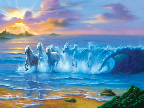 Wild Waves - 1000pc Jigsaw Puzzle by SunsOut