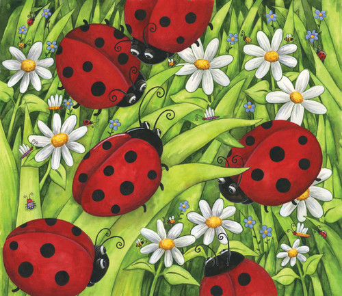 Jigsaw Puzzles - Lady Bugs