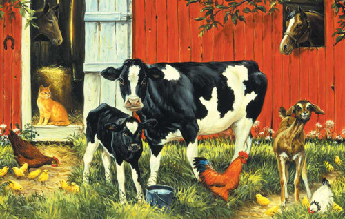 Jigsaw Puzzles for Kids - Down on the Farm
