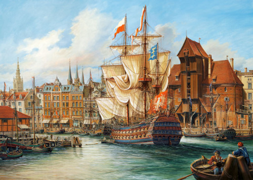 Jigsaw Puzzles - The Old Gdansk