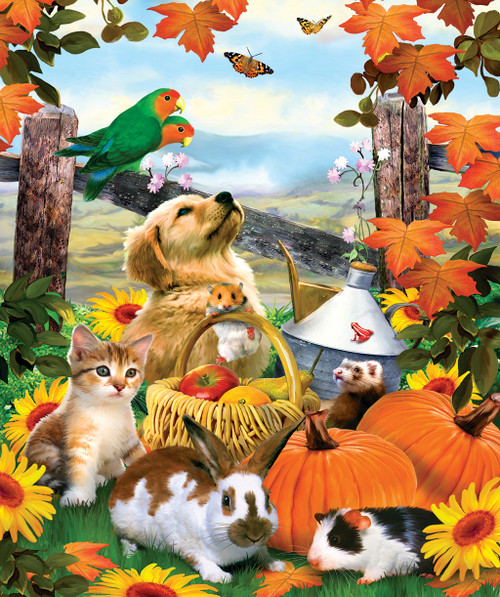 Harvest Moments - 200pc Jigsaw Puzzle by SunsOut