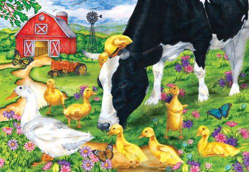 The Encounter - 100pc Jigsaw Puzzle by SunsOut