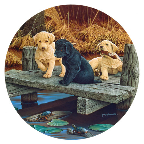 Puppies and  Friends - 100pc Jigsaw Puzzle by SunsOut (discon-20426)